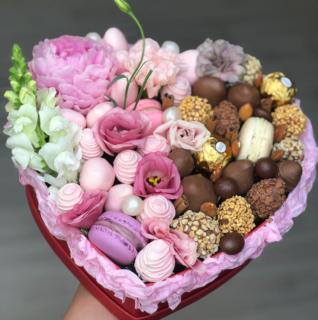 Клубника в шоколаде (сердце) Image